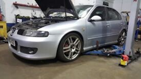 Seat Leon Cupra R 2005, Bilstein coilovers, Remap, recent full service, 4x new tyres, brake upgrade