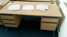 5 office desks £25 each. May Be Some Marks But Nothing Bad.