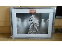 2 x queen / freddie mercury framed prints