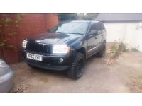 Jeep Grand Cherokee 3.0 WK (lift+2 new tires cooper)