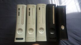 Joblot of 5x Xbox 360 consoles for Spares/Repairs £50ono Collection only