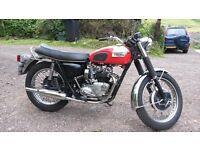 Triumph Daytona T100R 1072 Classic British motorcycle