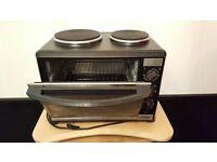 Oven with hotplates mini kitchen