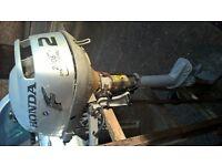 Honda 2hp four stroke outboard motor