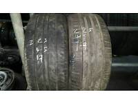 Part worn and brand new tyres fit