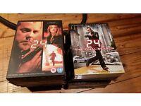 24 Seasons 1-8 boxed sets DVD