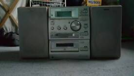 Sony micro MD/CD/CASSETTE/RADIO system