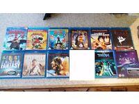 Blu-ray Bundle x11 (Avatar, Tron, Final Fantasy, Kung Fu Panda 2 + More)