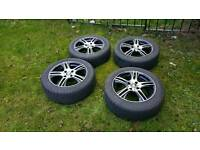 "Mzw OZ alloy wheels. 16"" 4 x 108 Excellent condition"