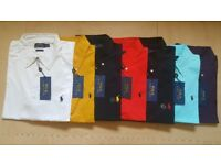 POLO RALPH LAUREN MENS FORMAL BLAKE SHIRTS 100% AUTHENTIC TOP QUALITY - S, M, L, XL
