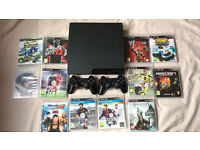 PS3 for sale with 12 Games
