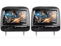 "BRAND NEW XTRONS 7"" twin leather headrest HD DVD system"