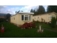 Two Bedroom Residential Park Home On Quiet Semi Retired Park for Over 50's