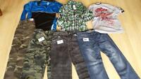 new boys pants and shirts $7 each or 3 for 15