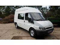 2004/54 Ford Transit 350 MWB Hi TOP 6 SEAT CREW VAN COMBI 2.4 Turbo Diesel **Call 07956 158103 **