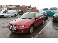 2005 ROVER 25 1.4 PETROL 2 OWNERS FROM NEW 70K MILEAGE