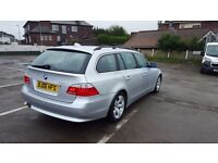 BMW 525 SE TOURING AUTOMATIC FULL SERVICE HISTORY NATIOWIDE WARRANTY IS AVAILABLE 12 MONTHS MOT