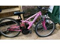 Bike - Apollo Pink-spares or repair