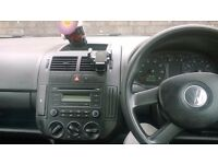 VW Polo 1.2 silver 3 door
