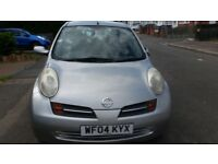 Nissan micra automatic low millage car for quick sale