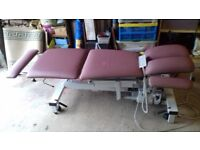 THERAPY COUCH. ELECTRIC HEIGHT ADJUSTABLE.