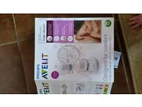 Avent electric breast pump with extras