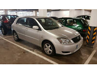 Toyota corolla 2004 diesel manual perfect condition Towbar 88k px for Yaris Automatic or Similar