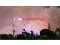 Twenty One Pilots @ Alexandra Palace 2 X Fri 11th Nov Tickets