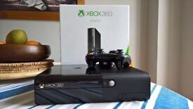 500gb xbox 360 with pad and games