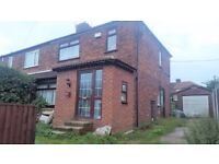 3 Bed Semi FOR SALE - Urgent - Quick sale needed - Investors welcome