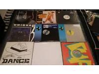 "Vinyl 12"" dance records private collection"