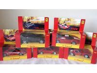 Shell Ferrari car collection