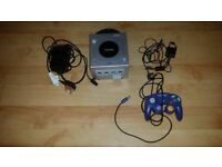 Nintendo GameCube Console With Memory Card NOT GAMES GOOD CONDITION