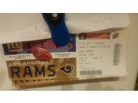 NFL international tickets 2016 @Twickenham. Giants vs Rams