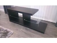 TV Stand black, very modern 110x40x39cm