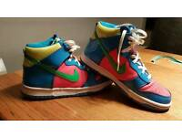 Nike high top trainers size 5