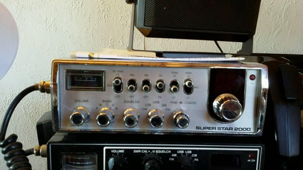 Superstar 2000 5x40 Channel Am Fm Ssb Cb Radio From 1980s