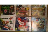 NINTENDO 3DS GAMES BUNDLE