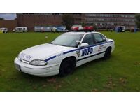 Nypd police car hire