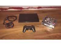 Ps3 superslim 12gb with controller