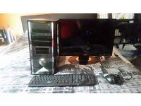 Intel Quadcore Full PC Set Up