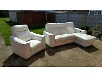 Sofa and Armchair (electric recliners)