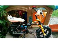 Action Man Action Force 14 Child's Bike