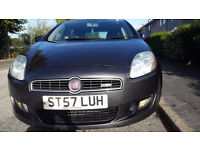 2008 NEW MODEL FIAT BRAVO 1.4cc-MINT CONDITION-LOW GENUINE MILEAGE-FULL SERVICE-LONG MOT-BARGAIN