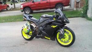 Yamaha R1 many upgrades