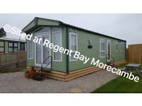 LUXURY 4 BERTH CARAVAN FOR HIRE REGENT BAY MORECAMBE