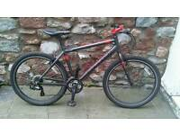 Carrera Parva LTD Edition Mountain Bike - cycle limited 20 inch black red