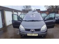 RENAULT SCENIC AUTOMATIC 1.6 PATROL ,5 DOOR ,FULL SERVICE HISTORY , 2 OWNER