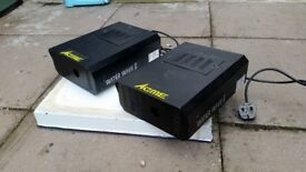 Acme Water Wave 2 Special Effects Lighting Unit Model (pair used)