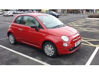 Great Condition Red 2012 Fiat 500